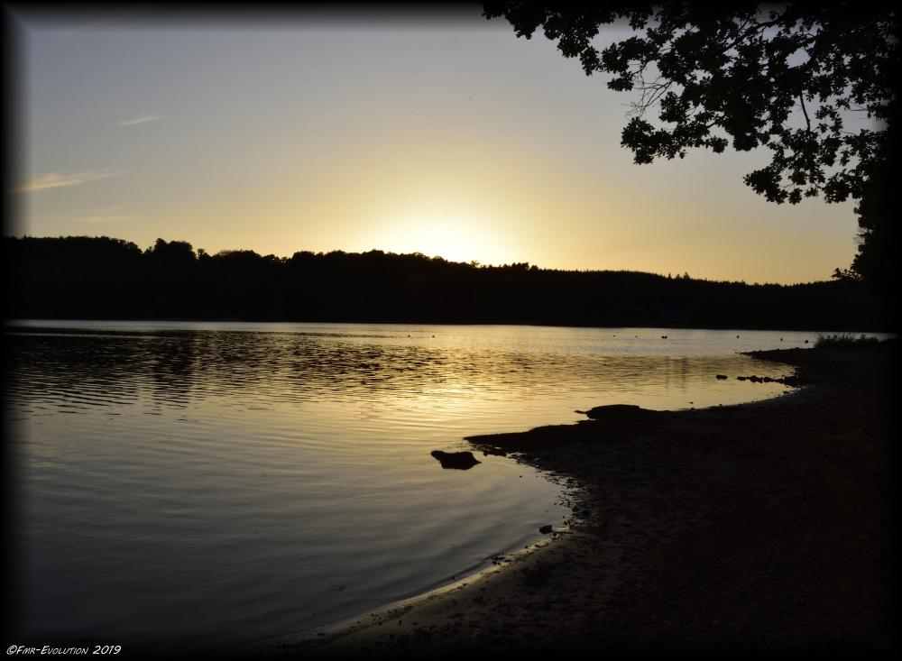 Marcillac la croisille - Lac de la Valette