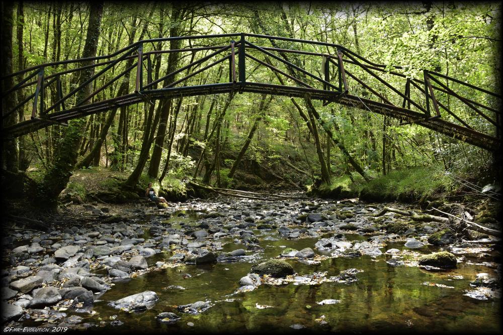 Gimel les Cascades - Pont sur la Gimelle