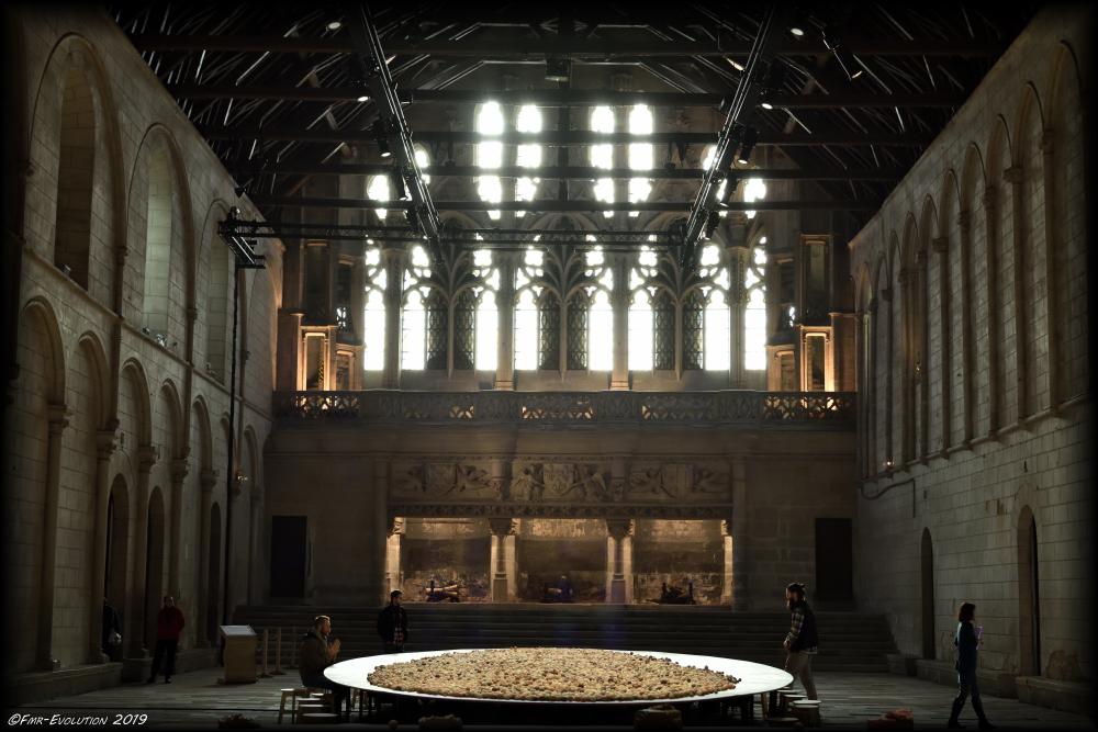 Salle des pas perdus - Ancien palais de Justice - Poitiers
