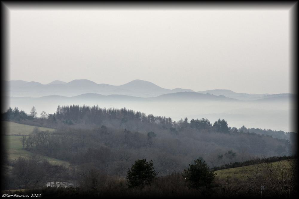Brume - Monts d'Auvergne