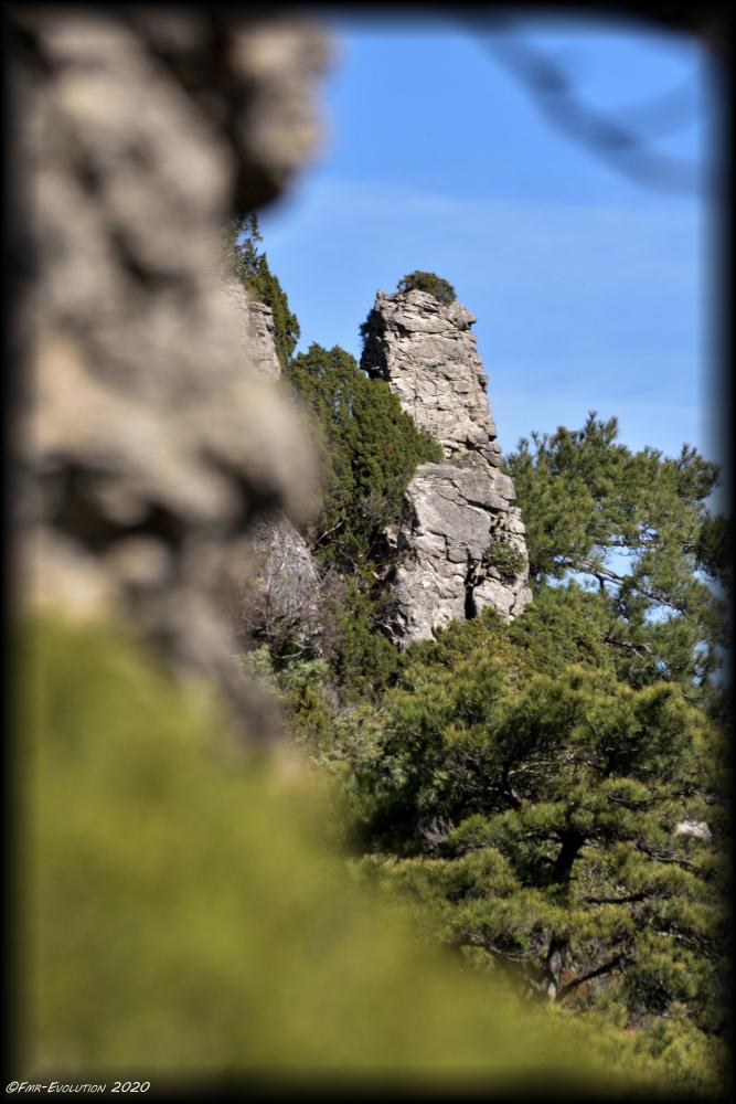 Saint Guilhem le Désert - Fenestrelles