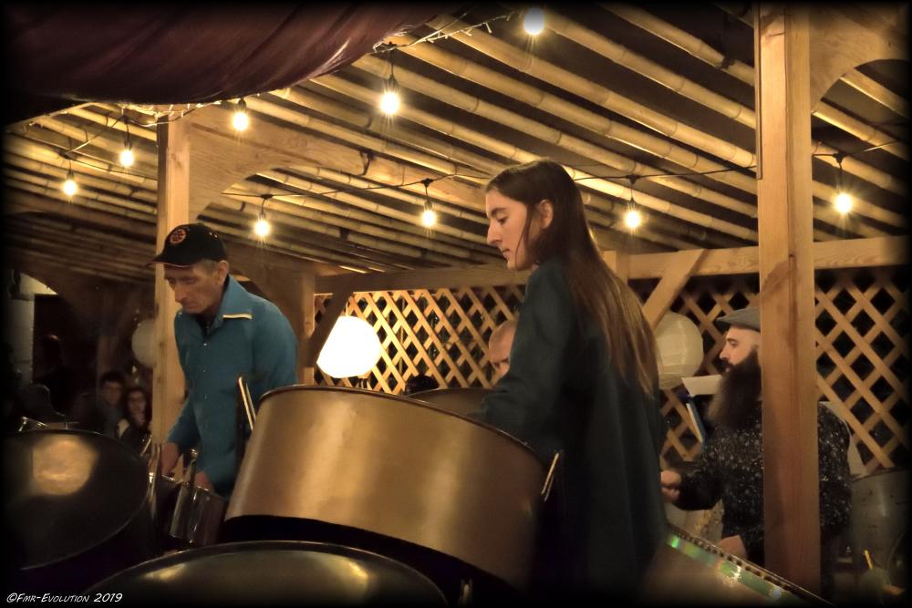 Little Big Steelband - Concert au Cabaret des Ramières