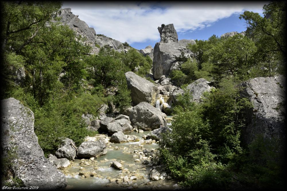 Luc en Diois - Saut de la Drôme