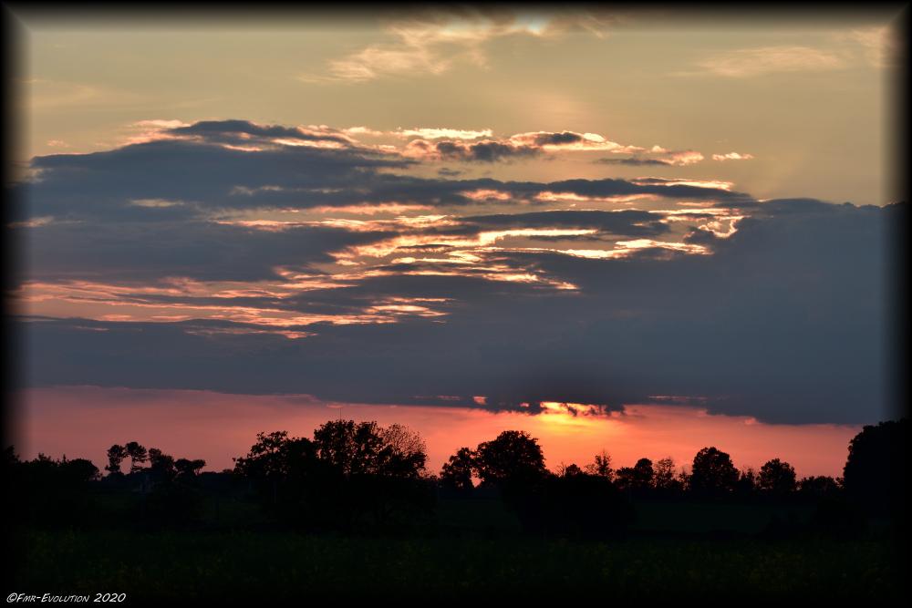 Le Bierson - Coucher de soleil