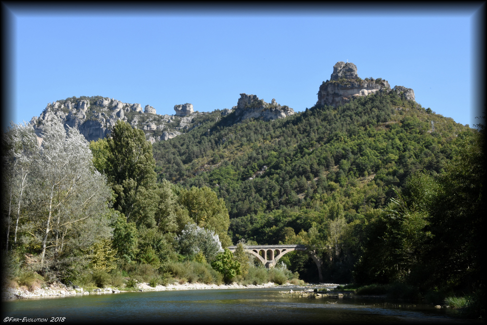 Le Rozier - Pont de la Muse sur le Tarn