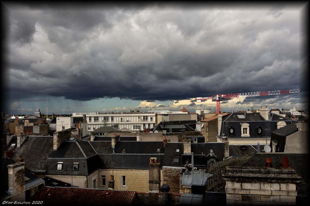 Orage sur Poitiers