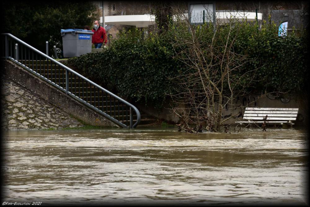 Le Clain - accès humide